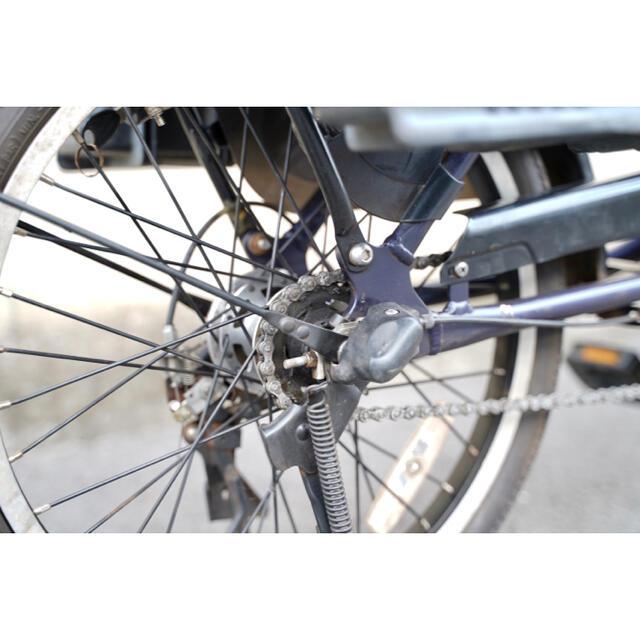 Panasonic(パナソニック)の電動自転車 パナソニック 20インチ 16ah 子供乗せ 電動アシスト 中古 スポーツ/アウトドアの自転車(自転車本体)の商品写真