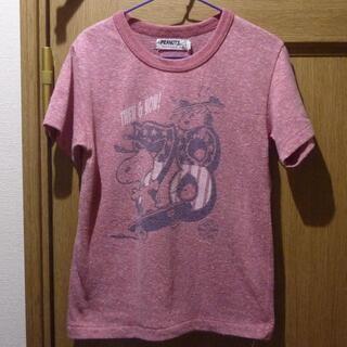 SNOOPY - ピーナッツ スヌーピーのTシャツ サイズ120 [997]