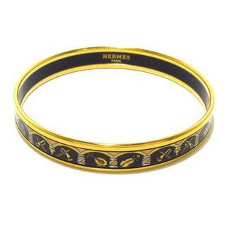 エルメス(Hermes)のエルメス バングル美品  エマイユ 金属素材(ブレスレット/バングル)