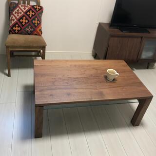 アクタス(ACTUS)のアクタス ACTUS テーブル ウォールナット 木 ウニコ アントリー (ローテーブル)