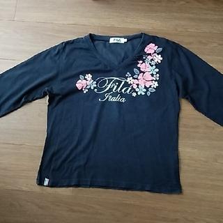 フィラ(FILA)のFILA 七分袖Tシャツ(ウェア)