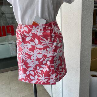 PUMA - pumaボタニカル柄スカートLサイズ