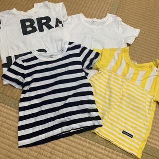 ムージョンジョン(mou jon jon)のキッズTシャツ90  3着セット(Tシャツ/カットソー)