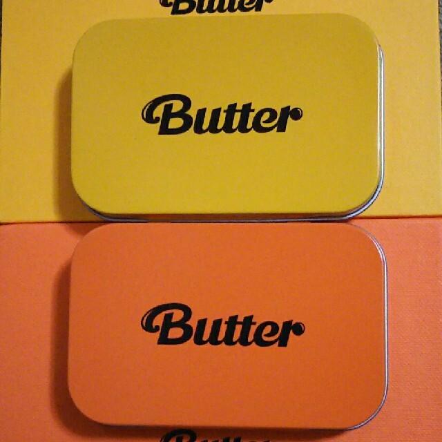 防弾少年団(BTS)(ボウダンショウネンダン)のBTS Butter Weverse購入特典 エンタメ/ホビーのCD(K-POP/アジア)の商品写真