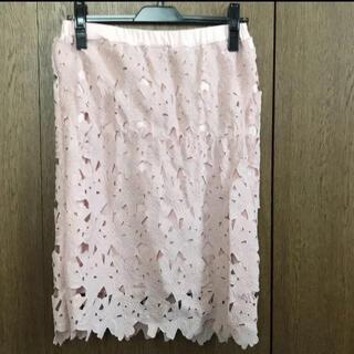 オリーブデオリーブ(OLIVEdesOLIVE)のOLIVE des OLIVE スカート Mサイズ #レースタイトスカート(ひざ丈スカート)
