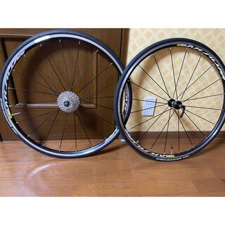 SHIMANO - ロードバイク ホイール タイヤ 11c シマノ MAVIC マヴィック