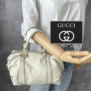 Gucci - 【美品】GUCCI グッチ 本革 ハンドバッグ ミニボストン