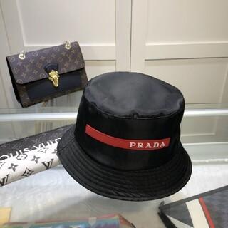 プラダ(PRADA)の人気新品 Prada   バケットハット 男女兼用 黑#701(ハット)