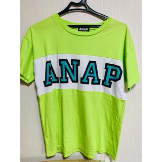 ANAP - 【アナップ】ライトグリーンロゴ半袖Tシャツ♪ANAP