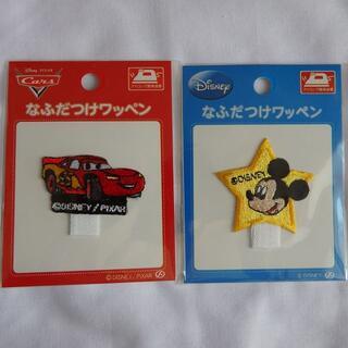 ディズニー(Disney)のディズニー名札付けワッペン ミッキーマウス&カーズ(ネームタグ)
