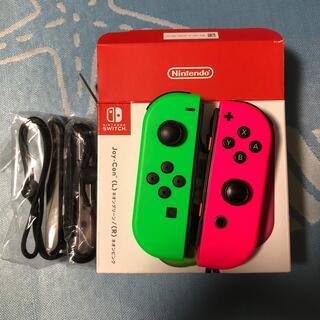Nintendo Switch - NintendoSwitch ジョイコン  ピンクとグリーン