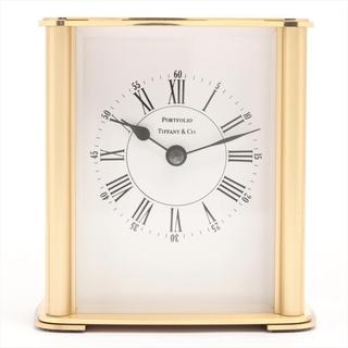 ティファニー(Tiffany & Co.)のティファニー 置時計 GP   ユニセックス その他腕時計アクセサリー(腕時計)