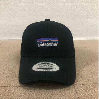 【Patagonia】パタゴニアP6ロゴキャップ ブラック