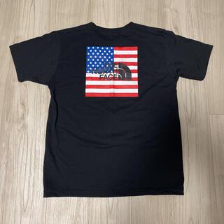 THE NORTH FACE - THE ノースフェイス Tシャツ 星条旗 サイズL