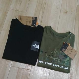 THE NORTH FACE - 【新品タグ付き】ノースフェイス☆ロゴ Tシャツ セット 130センチ