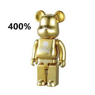 メディコムトイ(MEDICOM TOY)のBE@RBRICK mastermind JAPAN GOLD  400%(その他)
