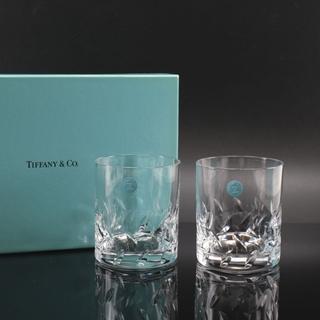 ティファニー(Tiffany & Co.)のティファニー タンブラー/ロックグラス×2   8.5×H7cm(タンブラー)