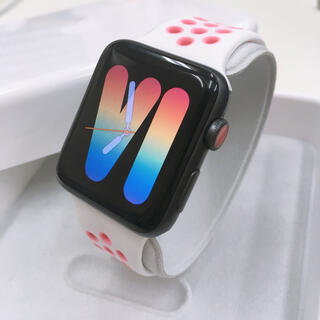 Apple Watch - アップルウォッチ series3 セルラー Apple Watch 42mm 黒