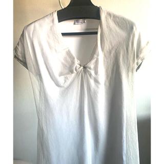 ブルネロクチネリ(BRUNELLO CUCINELLI)のBURUNELLO  CUCINELLI シフォンカットソー(Tシャツ/カットソー(半袖/袖なし))