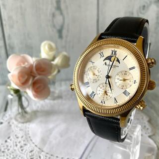 アクアスキュータム(AQUA SCUTUM)の【動作OK】Aquascutum アクアスキュータム 腕時計 グラコン(腕時計(アナログ))