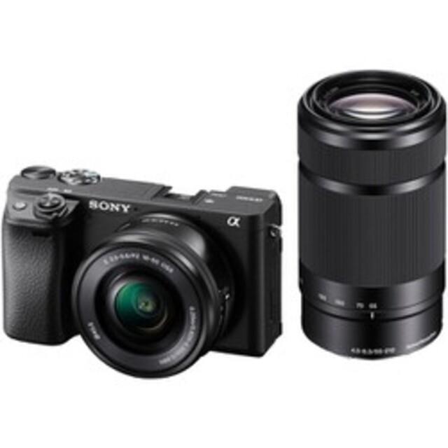 SONY(ソニー)の【新品未使用】ソニーα6400 ダブルズームキット 2セット スマホ/家電/カメラのカメラ(ミラーレス一眼)の商品写真