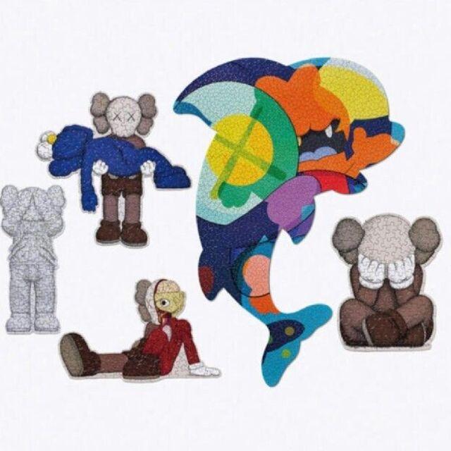 kaws puzzle 5 set 5種セット 新品未使用 エンタメ/ホビーのフィギュア(その他)の商品写真