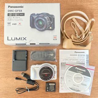 パナソニック(Panasonic)のLUMIX DMC-GF5X ミラーレス一眼レフカメラ(デジタル一眼)
