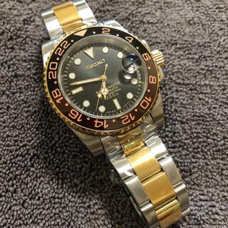 SEIKO - SEIKO セイコー Mod NH35 GMTマスター タイプ カスタム腕時計