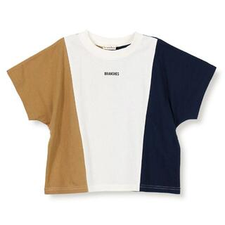 Branshes - ブランシェス 切り替え半袖Tシャツ 150cm