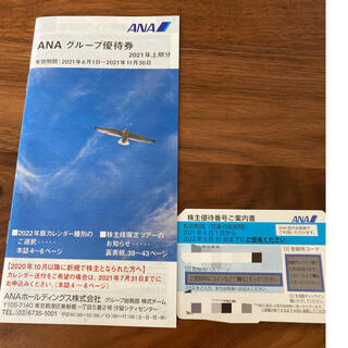 エーエヌエー(ゼンニッポンクウユ)(ANA(全日本空輸))のANA優待券 5枚まであります。(航空券)