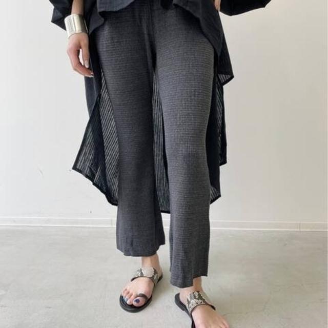 L'Appartement DEUXIEME CLASSE(アパルトモンドゥーズィエムクラス)のGOOD GRIEF/グッドグリーフ Thermal Pants レディースのパンツ(カジュアルパンツ)の商品写真