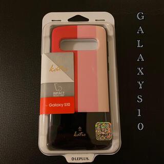 GALAXY GALAXYS10 新品 スマホ 未使用 ケース ピンク 可愛い(Androidケース)