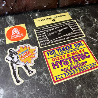 HYSTERIC GLAMOUR - Hysteric Glamour Sticker set レア⬜︎ #hg7