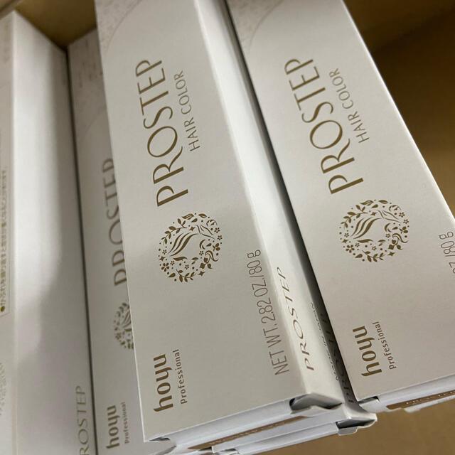 Hoyu(ホーユー)のホーユー プロステップ18本セット コスメ/美容のヘアケア/スタイリング(カラーリング剤)の商品写真