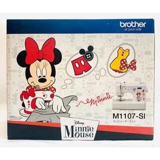 ブラザー(brother)のブラザー コンピューターミシン ミニーマウス M1107-SI CPV7205(その他)