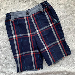 familiar - 【ファミリア】パンツ 6部丈 ズボン チェック 80 男の子