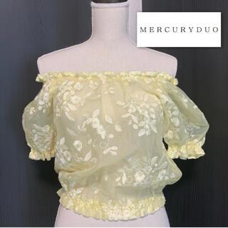MERCURYDUO - マーキュリーデュオ シアートップス