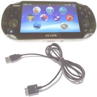 PlayStation Vita - 【送料無料】クリスタル・ブラック PlayStation®Vita 3GWiFi