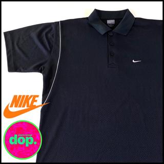 ナイキ(NIKE)の▼ Nike black swash polo shirt ▼(ポロシャツ)