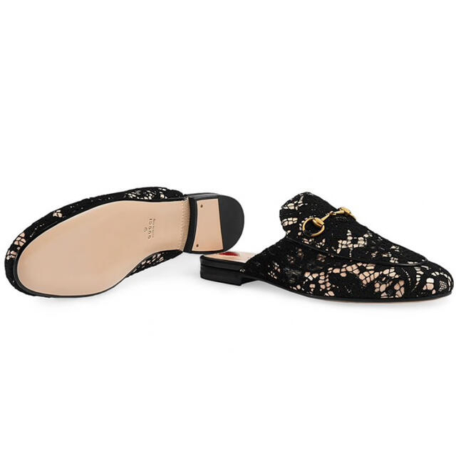 Gucci(グッチ)のGUCCI  レース プリンスタウン レディースの靴/シューズ(スリッポン/モカシン)の商品写真