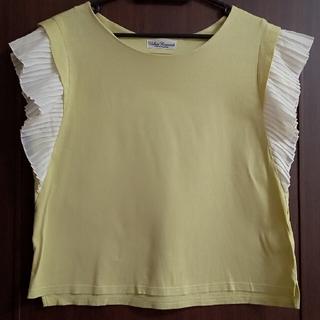 アーバンリサーチ(URBAN RESEARCH)のアーバンリサーチ 袖プリーツ Tシャツ(Tシャツ(半袖/袖なし))