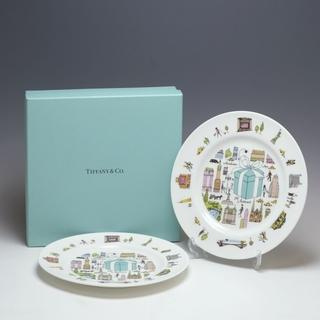 ティファニー(Tiffany & Co.)のティファニー 5thアベニュー プレート×2枚 19cm(食器)