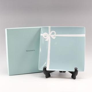 Tiffany & Co. - ティファニー ブルーボックス プレート×1枚 24×24cm