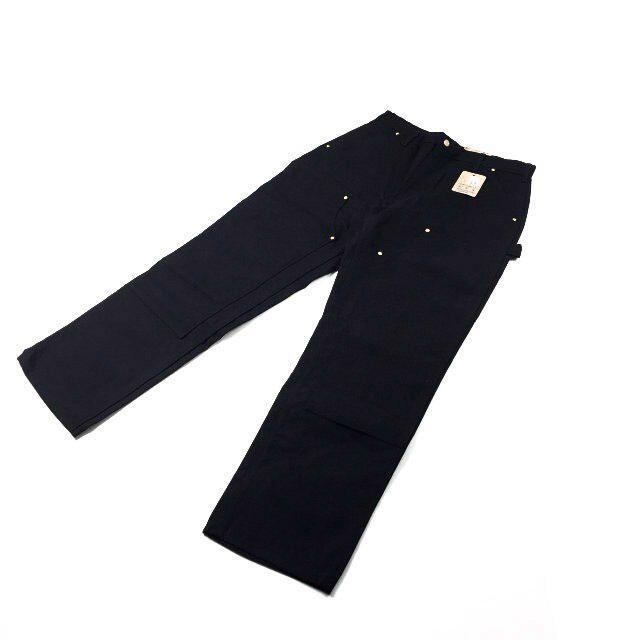 carhartt(カーハート)のカーハート パンツ ダックキャンバスUS買付(34×32)黒 181218-30 メンズのパンツ(デニム/ジーンズ)の商品写真