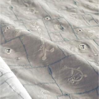 mina perhonen - ミナペルホネン*garden patchwork /ライトグレー