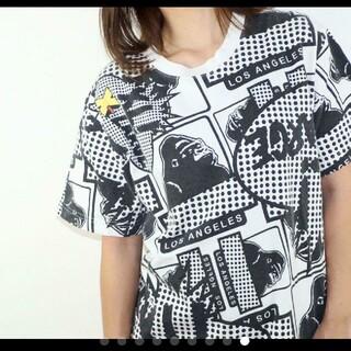 エクストララージ(XLARGE)のエクストララージ X-LARGE 総柄  Tシャツ(Tシャツ/カットソー(半袖/袖なし))