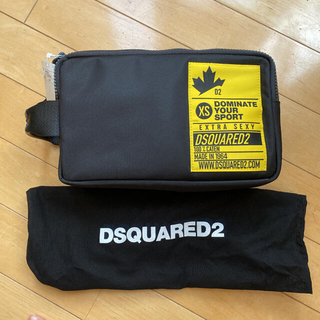 ディースクエアード(DSQUARED2)の新品 DSQUARED2 ポーチ クラッチバッグ(セカンドバッグ/クラッチバッグ)