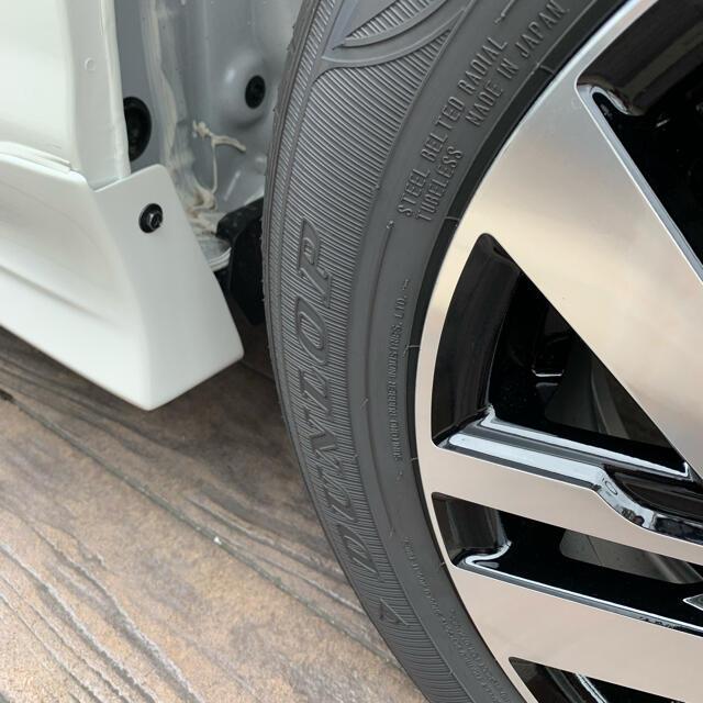 トヨタ(トヨタ)のルーミー タイヤ・ホイールセット  4本 自動車/バイクの自動車(タイヤ・ホイールセット)の商品写真