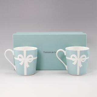 ティファニー(Tiffany & Co.)のティファニー ブルーボックス マグカップ×2客     陶磁器(グラス/カップ)