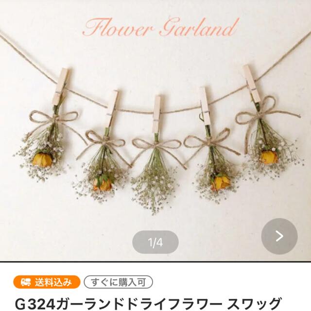 Fiore様専用G332.334 ハンドメイドのフラワー/ガーデン(ドライフラワー)の商品写真